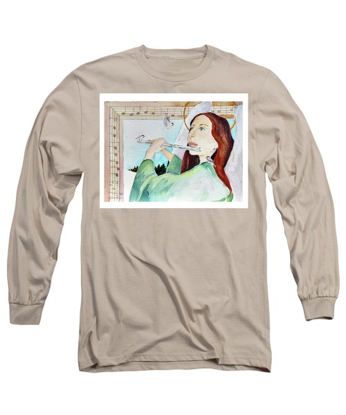 Carol Of The Birds Long Sleeve T-Shirt