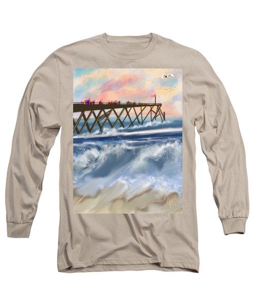Carolina Beach Long Sleeve T-Shirt
