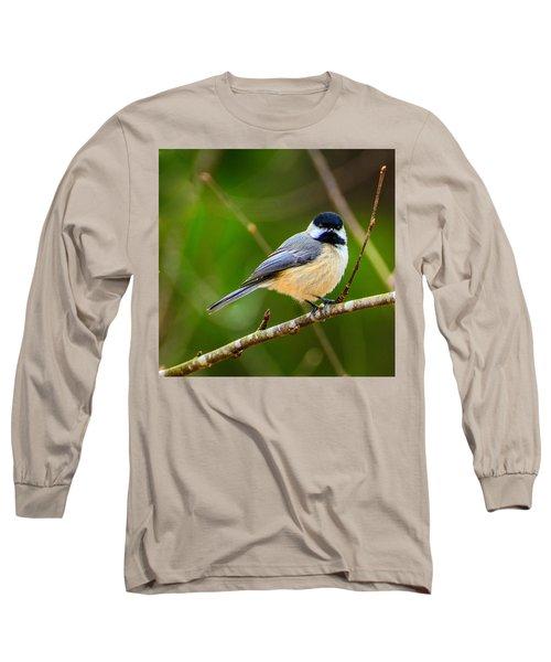 Carolina Chickadee Long Sleeve T-Shirt