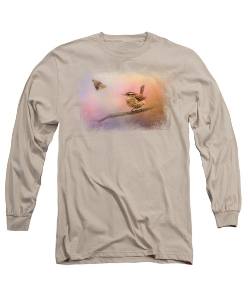 Carolina Wrens Long Sleeve T-Shirt
