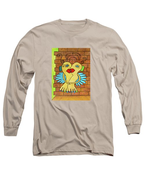 Carottes-pieds En Amour. - Carrots-feet In Love Long Sleeve T-Shirt