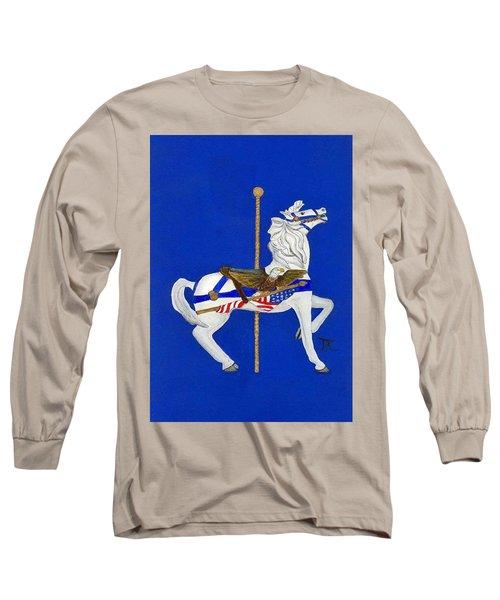 Carousel Horse #1 Long Sleeve T-Shirt