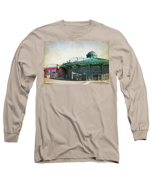 Carousel House At Asbury Park Long Sleeve T-Shirt by Colleen Kammerer