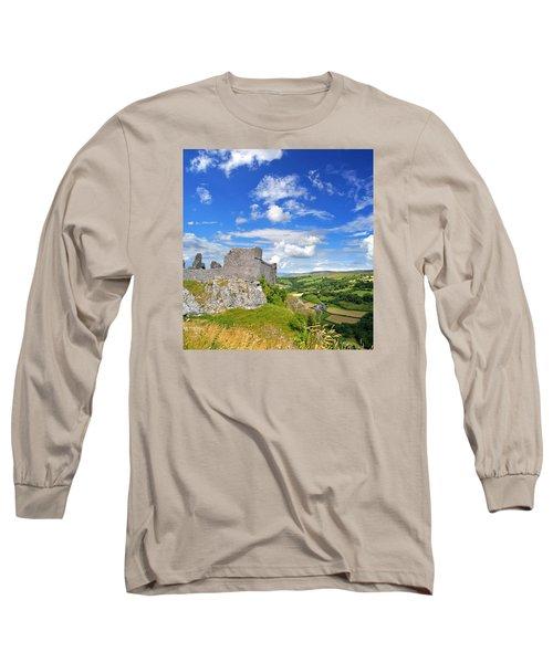 Carreg Cennen Castle 1 Long Sleeve T-Shirt