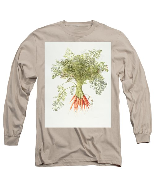 Carrots Long Sleeve T-Shirt by Margaret Ann Eden