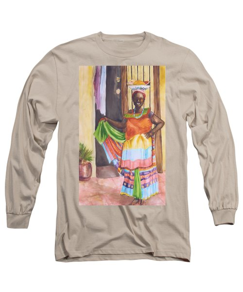 Cartegena Woman Long Sleeve T-Shirt