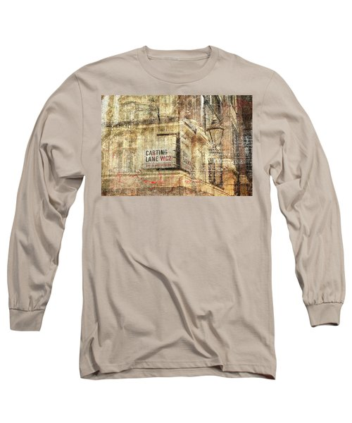 Carting Lane, Savoy Place Long Sleeve T-Shirt by Nicky Jameson