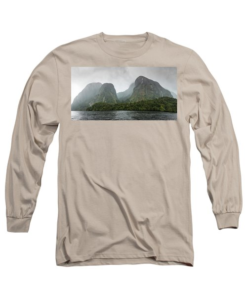 Long Sleeve T-Shirt featuring the photograph Carved By Glaciers by Chris Cousins
