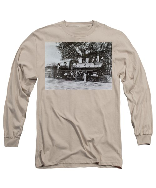 Casey Jones Engine  Long Sleeve T-Shirt