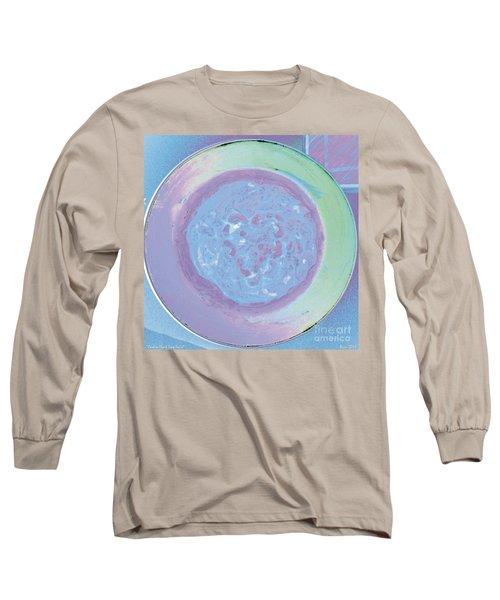 Cashew Heart Soup Swirl Long Sleeve T-Shirt