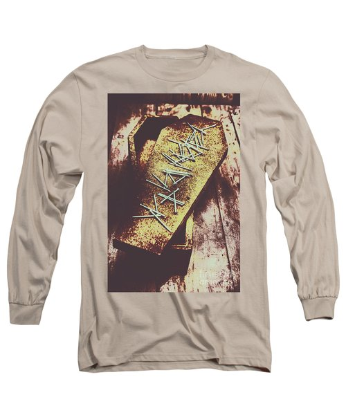 Casket Closing Long Sleeve T-Shirt