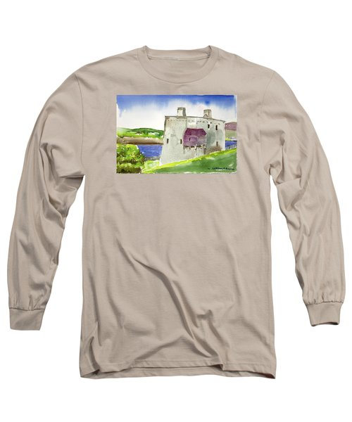 Castle From The Hill Long Sleeve T-Shirt
