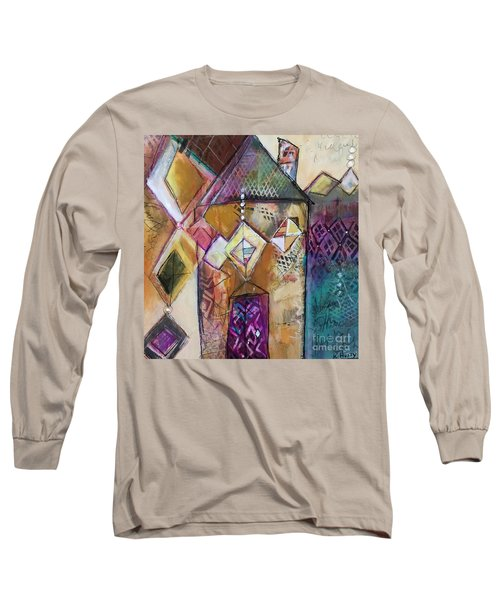 Castle Tower Long Sleeve T-Shirt by Karin Husty