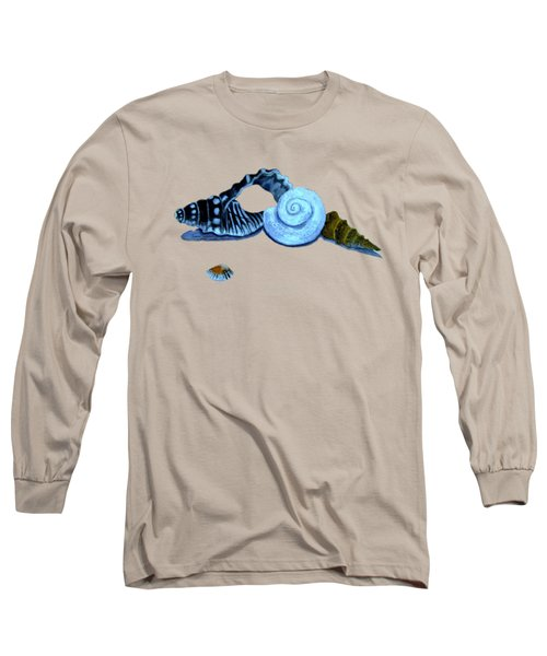 Castles In Blue Long Sleeve T-Shirt by Leanne Seymour