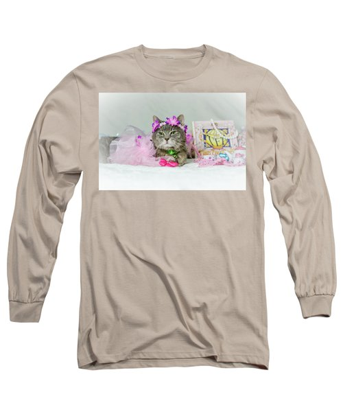 Cat Tea Party Long Sleeve T-Shirt