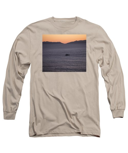 Catalina Orange Long Sleeve T-Shirt