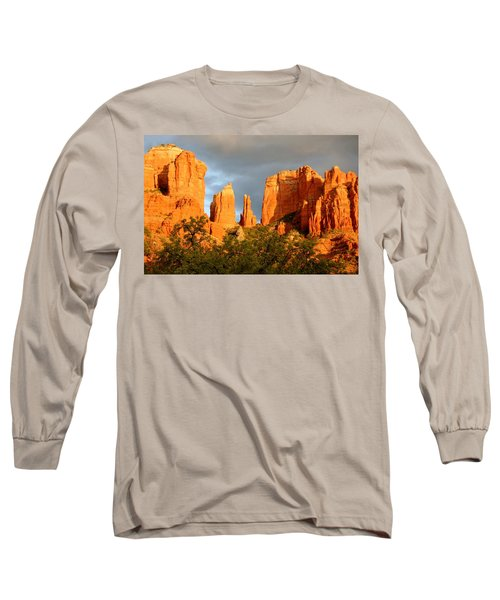 Cathedral Formation Long Sleeve T-Shirt by Ellen Heaverlo