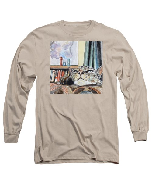 Catnip Long Sleeve T-Shirt by Stan Tenney