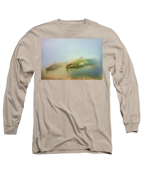 Cats In The Water Long Sleeve T-Shirt
