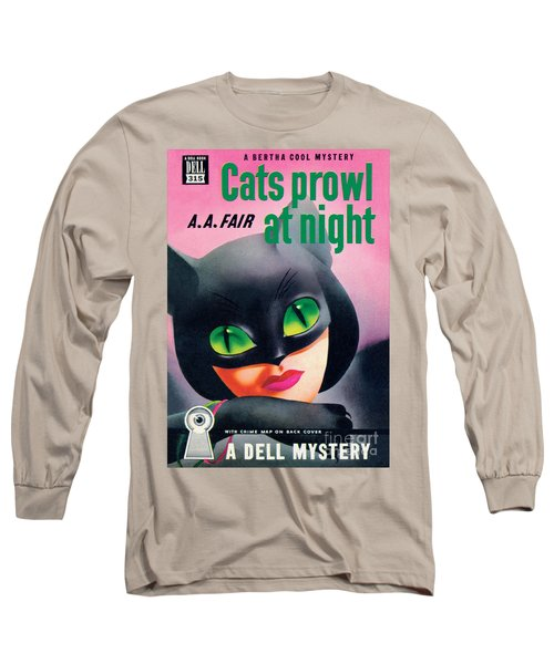 Cats Prowl At Night Long Sleeve T-Shirt