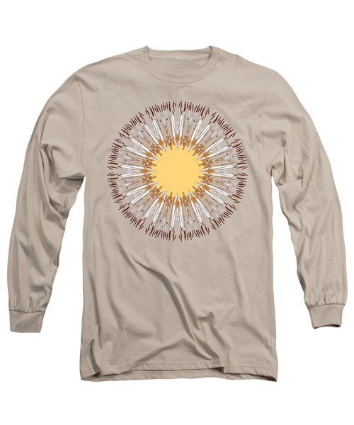 Cattail Mandala - Long Sleeve T-Shirt