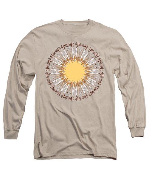 Cattail Mandala - Long Sleeve T-Shirt