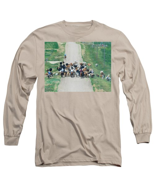Cattle Drive Long Sleeve T-Shirt