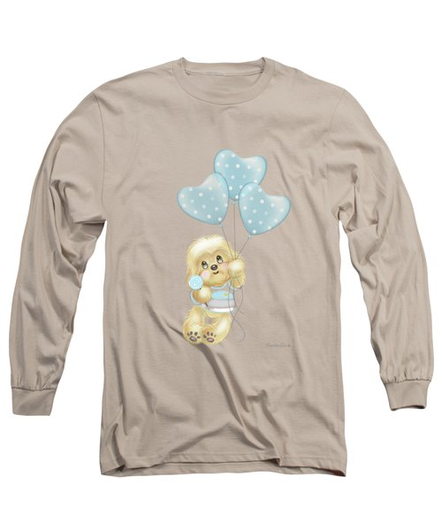 Cavapoo Toby Baby Long Sleeve T-Shirt