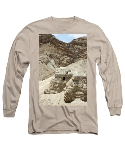 Caves Of The Dead Sea Scrolls Long Sleeve T-Shirt