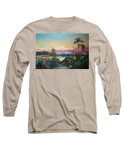 Cayambe-ish Long Sleeve T-Shirt