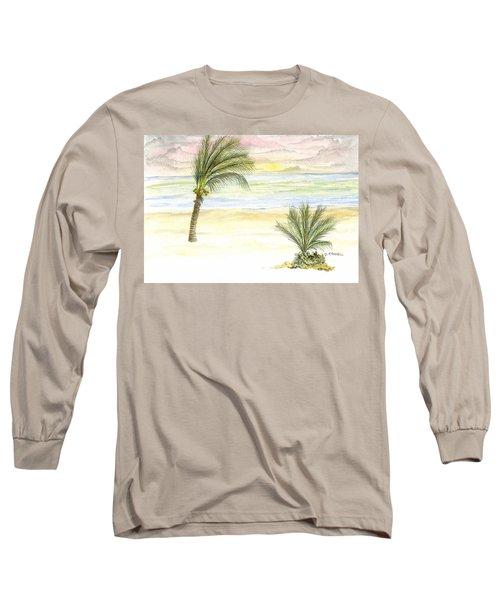 Cayman Beach Long Sleeve T-Shirt