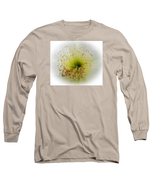 Cctus Flower Long Sleeve T-Shirt by Christy Usilton