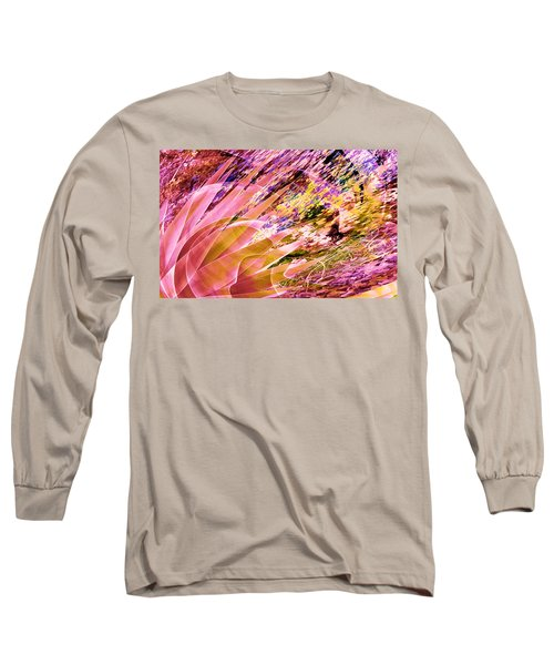 Celebration In Pink Long Sleeve T-Shirt