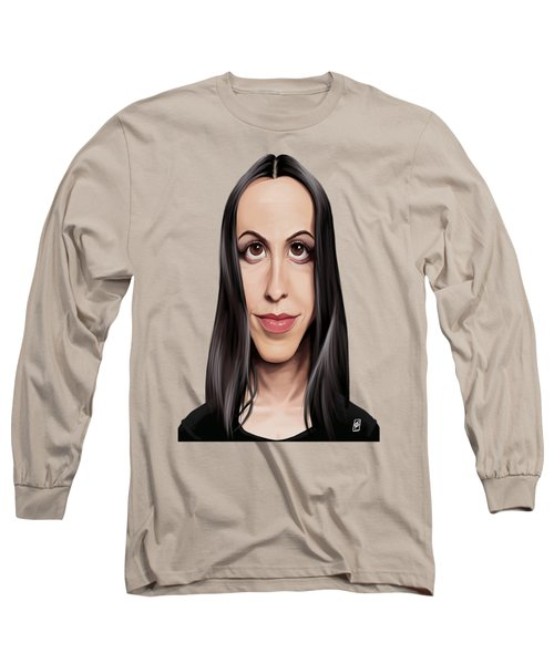 Celebrity Sunday - Alanis Morissette Long Sleeve T-Shirt