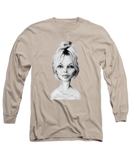 Celebrity Sunday - Brigitte Bardot Long Sleeve T-Shirt