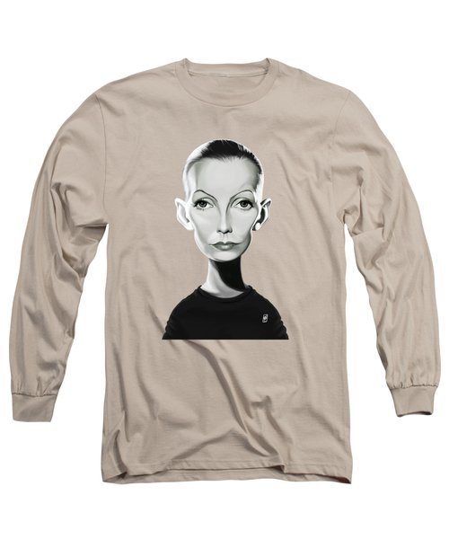 Celebrity Sunday - Greta Garbo Long Sleeve T-Shirt
