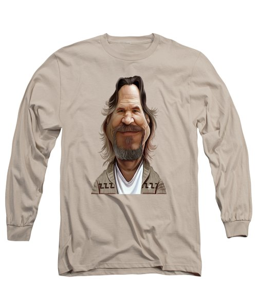 Celebrity Sunday - Jeff Bridges Long Sleeve T-Shirt