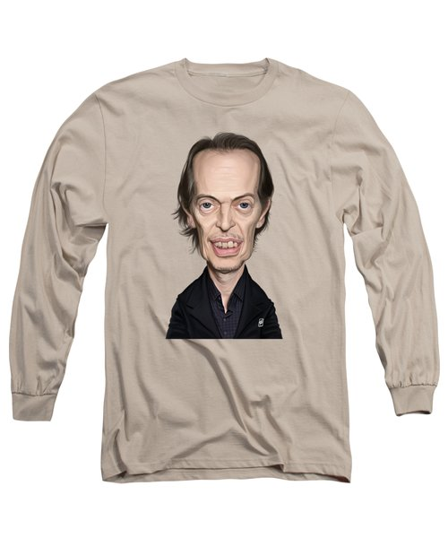 Celebrity Sunday - Steve Buscemi Long Sleeve T-Shirt