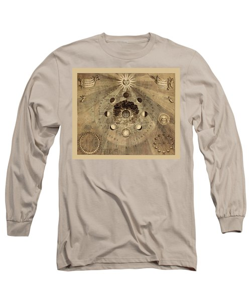 Celestial Map 1710b Long Sleeve T-Shirt by Andrew Fare