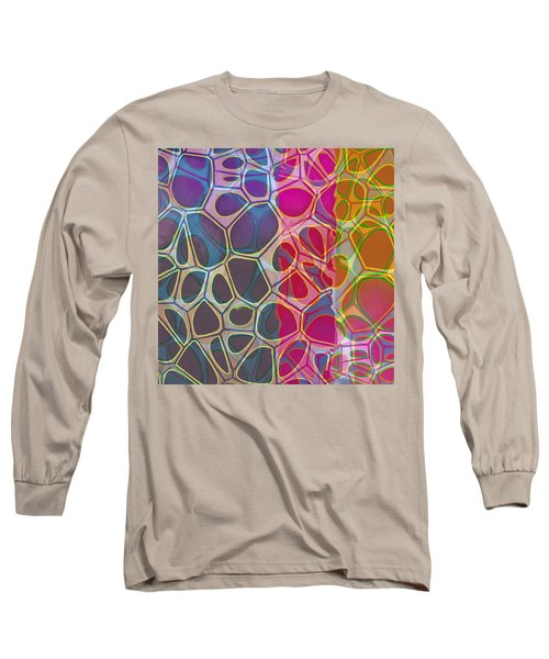 Cell Abstract 11 Long Sleeve T-Shirt by Edward Fielding