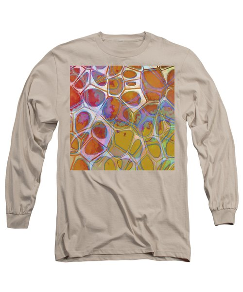 Cell Abstract 14 Long Sleeve T-Shirt by Edward Fielding