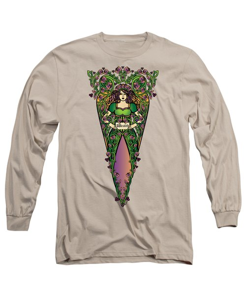 Celtic Forest Fairy - Wealth Long Sleeve T-Shirt