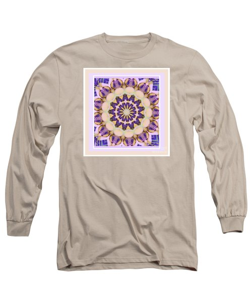 Center Of Passion Flower Long Sleeve T-Shirt