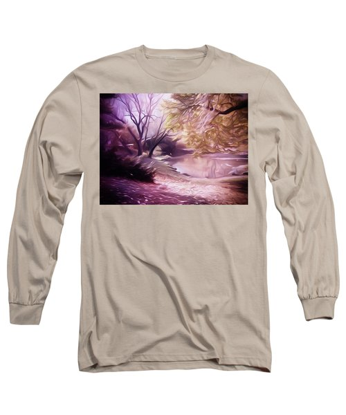 Central Park Long Sleeve T-Shirt by Carol Crisafi