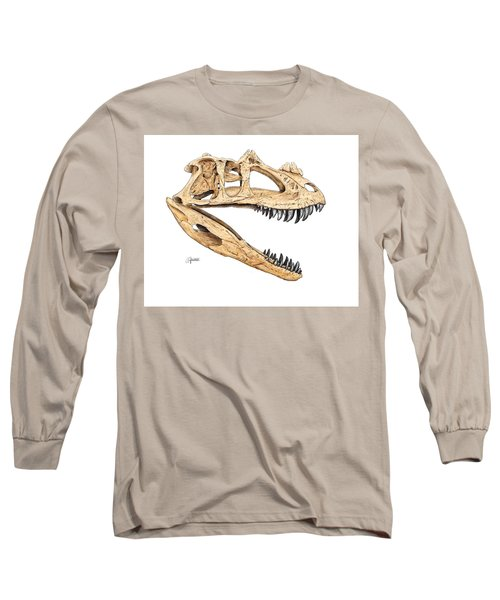 Ceratosaur Skull Long Sleeve T-Shirt