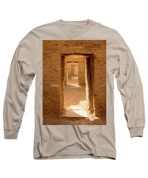 Chaco Ancient Doors   Long Sleeve T-Shirt