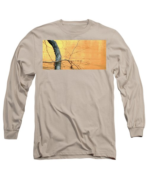 Chagrin River Gold Long Sleeve T-Shirt by Bruce Patrick Smith