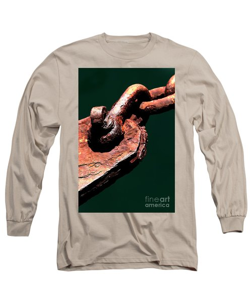Long Sleeve T-Shirt featuring the photograph Chain Age II by Stephen Mitchell