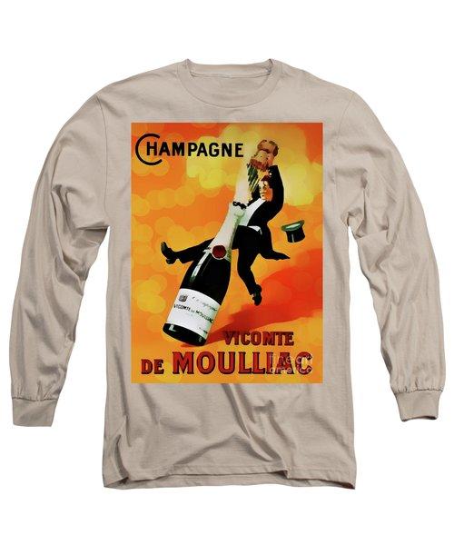 Champagne Celebration Long Sleeve T-Shirt