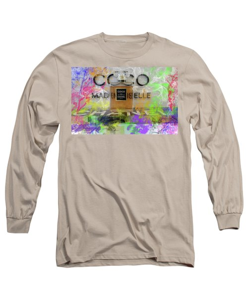 Chanel Coco Abstract 4 Long Sleeve T-Shirt